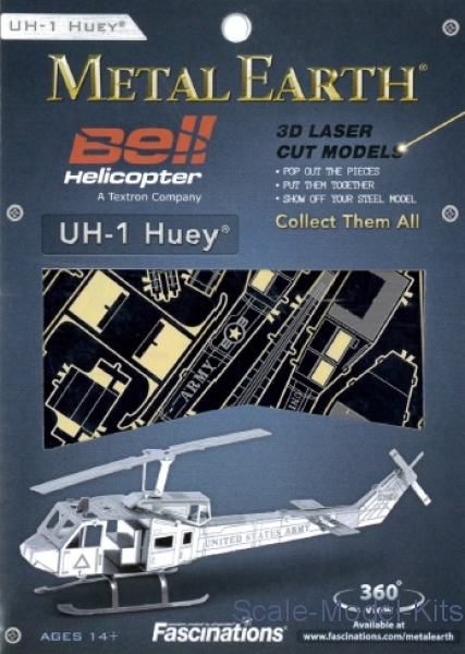 3D Puzzle Series: UH-1 Huey Helicopter