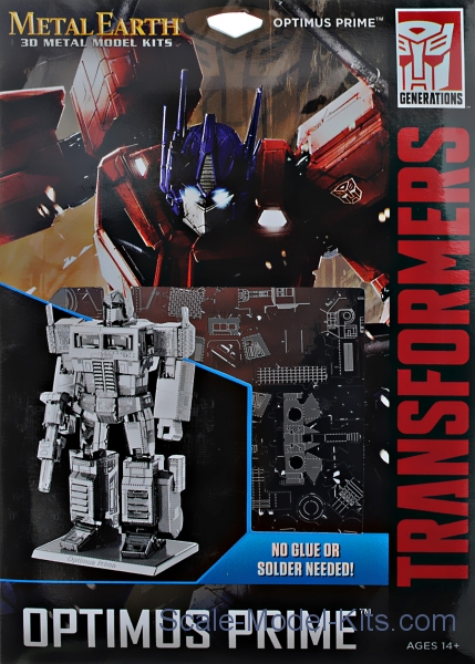 "Metal 3D puzzle ""Optimus Prime"""