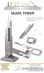 ICX013 3D pazle: Sears Tower