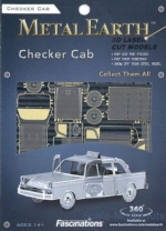 MMS007 3D Puzzle Series: Checker cab