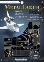 MMS015-D 3D Puzzle: Space Shuttle Discovery