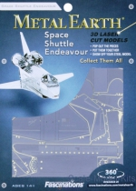 MMS015-E 3D Puzzle: Space Shuttle Endeavor