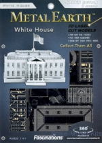 MMS032 Metal 3D puzzle White House