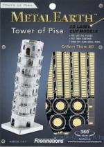 MMS046 Metal 3D puzzle Tower of Pisa