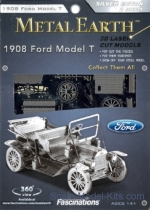 MMS051 3D Puzzle: 1908 Ford  Model T