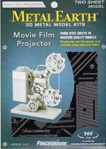 MMS088 3D Puzzle: Vintage Movie Projector