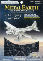 MMS091 3D Puzzle: B-17 Flying Fortress