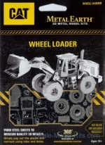 MMS423 3D Puzzle: Wheel Loader