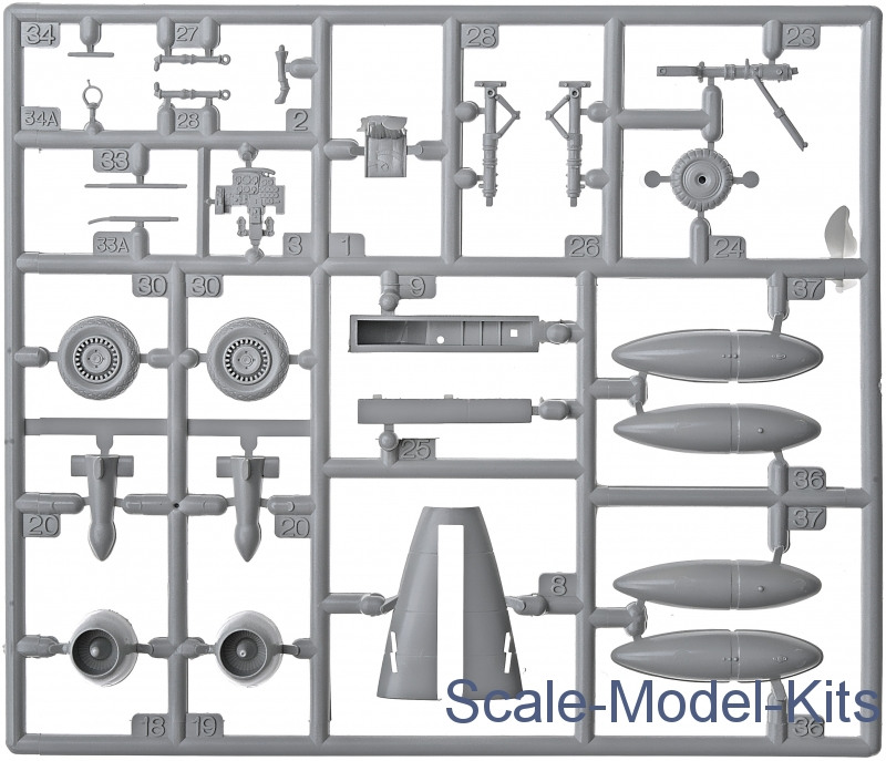 Me 262 A-1a Revell Kit 1:72 RV04166