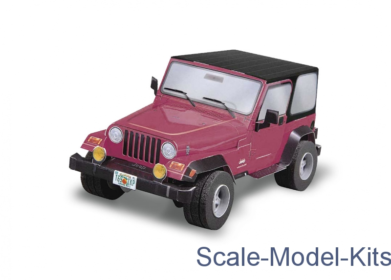 Jeep Wrangler (Red)