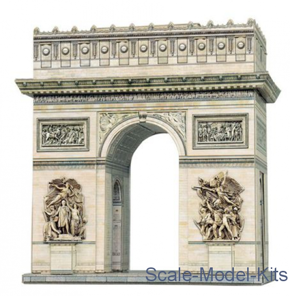 Puzzle 3D: The Arc De Triomphe