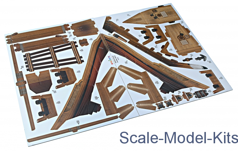 Umbum - Cardboard model kit: