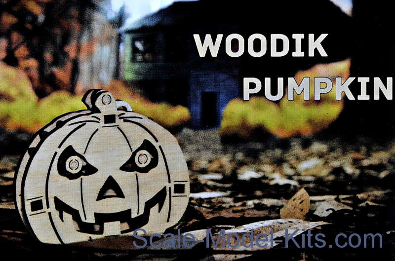 "Mechanical 3D-puzzle ""Woodik Pumpkin"""